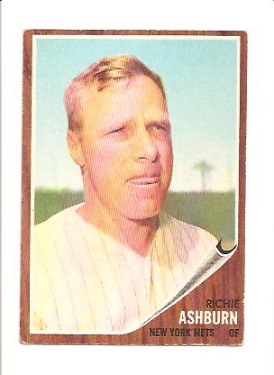 1962 Topps #213 Richie Ashburn