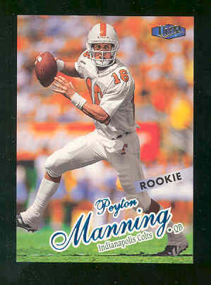 1998 Ultra #201 Peyton Manning RC