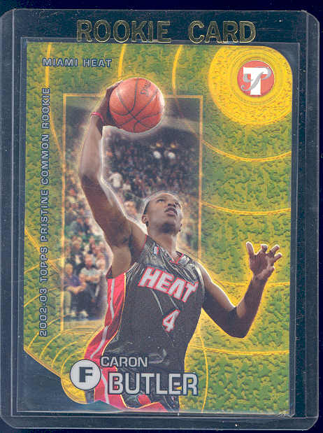 2002-03 Topps Pristine Refractors Gold #78 Caron Butler C