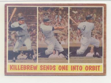 1962 Topps #316 Harmon Killebrew IA