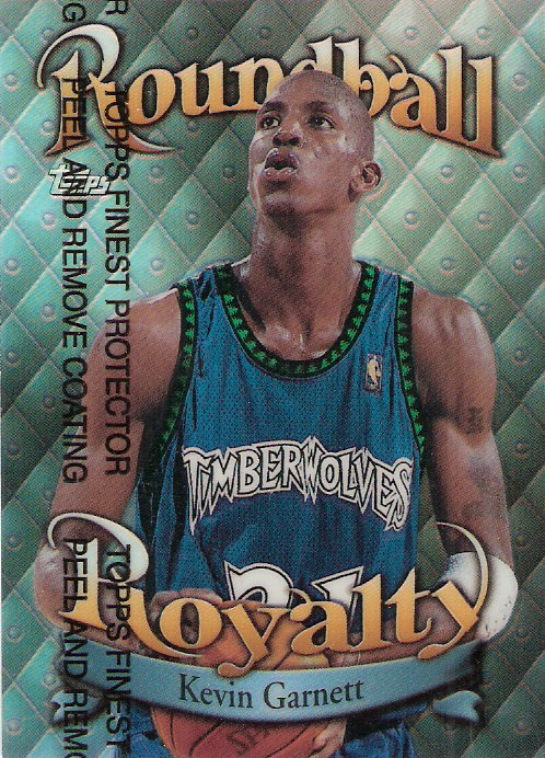 1998-99 Topps Roundball Royalty Refractors #R2 Kevin Garnett