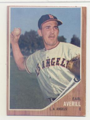 1962 Topps #452 Earl Averill Jr.