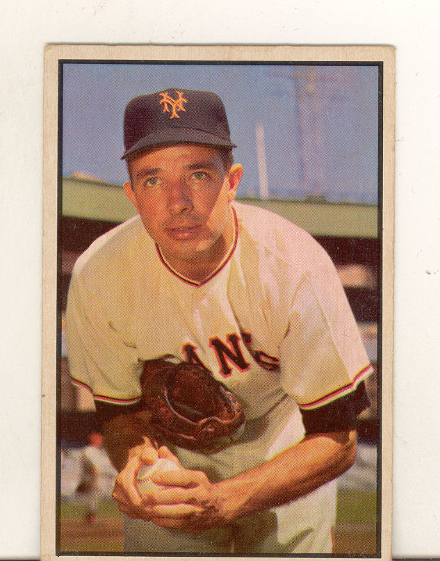 1953 Bowman Color #76 Jim Hearn