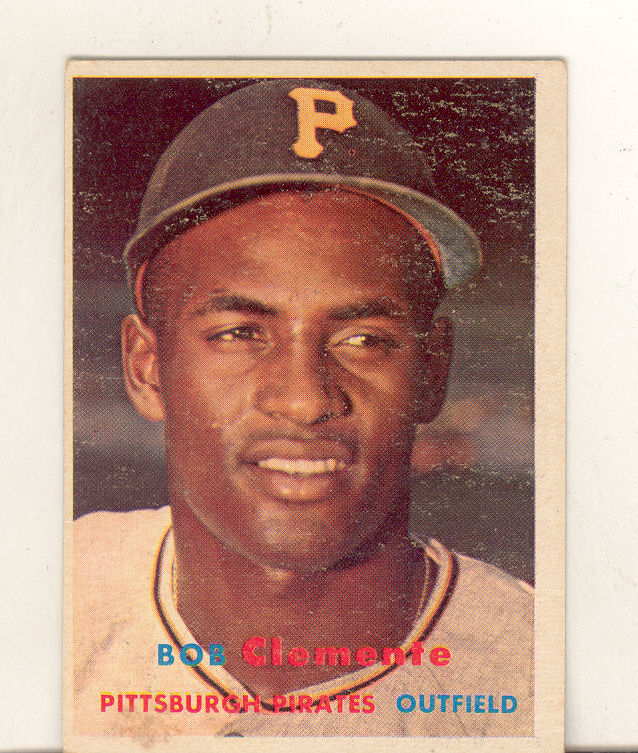 1957 Topps #76 Roberto Clemente