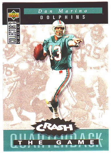 1994 Collector's Choice Crash the Game Gold Redemption #C5 Dan Marino
