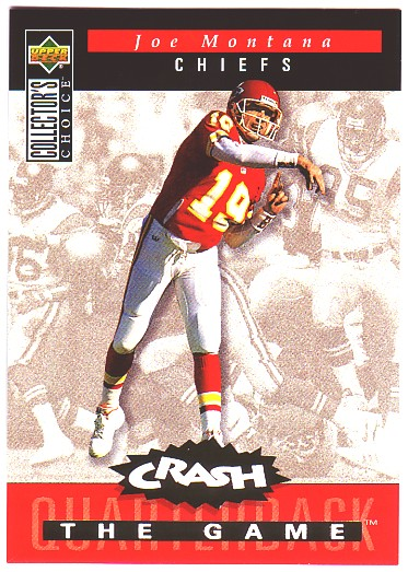 1994 Collector's Choice Crash the Game Gold Redemption #C8 Joe Montana