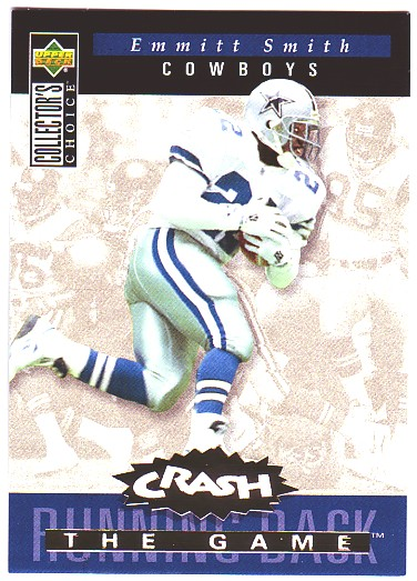 1994 Collector's Choice Crash the Game Gold Redemption #C15 Emmitt Smith