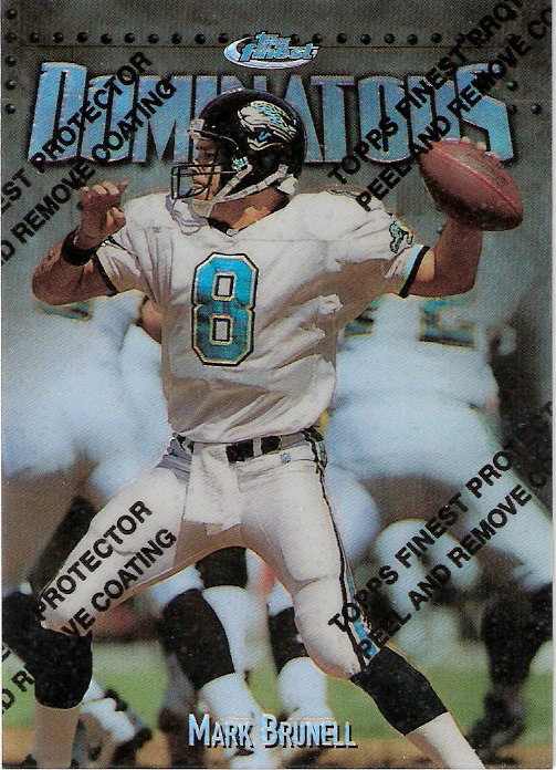 1997 Finest Refractors #315 Mark Brunell S