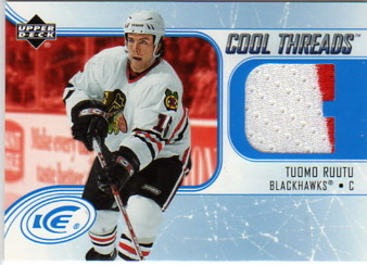 2005-06 Upper Deck Ice Cool Threads #CTTR Tuomo Ruutu
