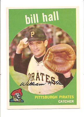 1959 Topps #49 Bill Hall RC