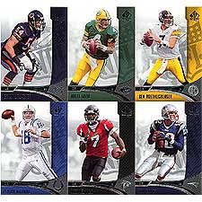 2006 SP Authentic Football Complete Set with no SP's Cards 1-100