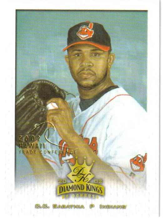2002 Diamond Kings Hawaii Parallel 20 #40 C.C. Sabathia