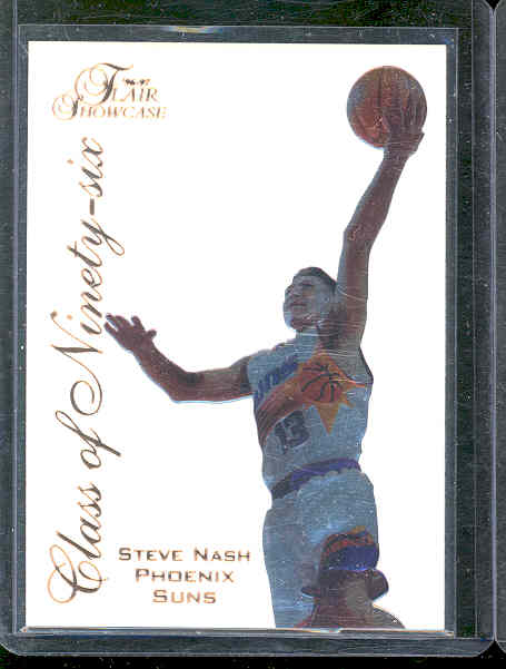 1996-97 Flair Showcase Class of '96 #15 Steve Nash