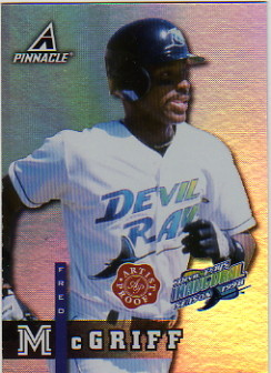 1998 Pinnacle Plus Artist's Proofs #PP39 Fred McGriff