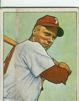 1950 Bowman #84 Richie Ashburn