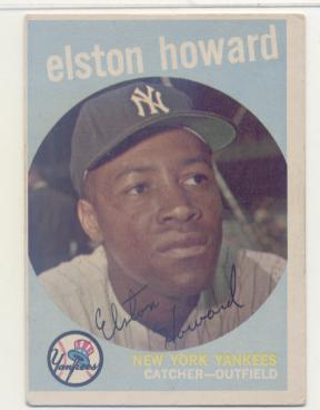 1959 Topps #395 Elston Howard
