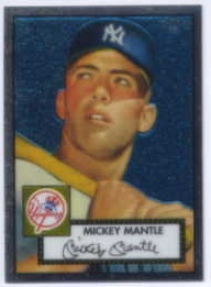 2006 Topps 52 Chrome #7 Mickey Mantle