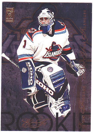 1995-96 Donruss Elite Rookies #6 Eric Fichaud