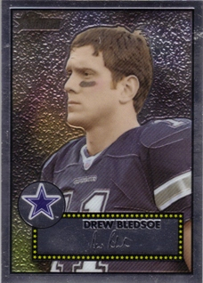 2006 Topps Heritage Chrome #THC17 Drew Bledsoe