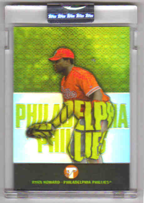 2003 Topps Pristine Refractors #189 Ryan Howard U