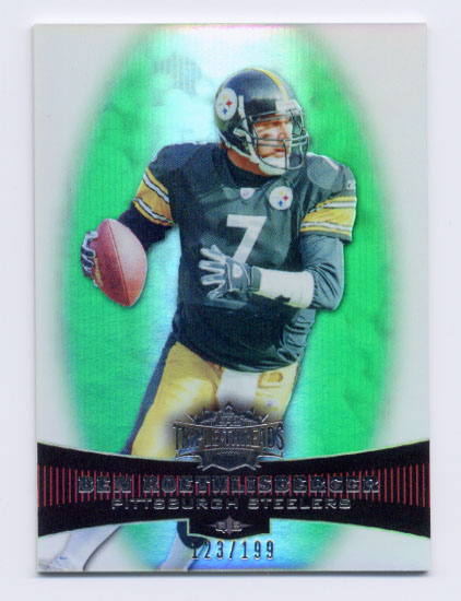 2006 Topps Triple Threads Emerald #11 Ben Roethlisberger