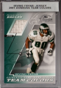 2001 Donruss Classics Team Colors #TC44 Irving Fryar