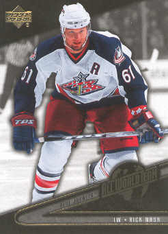 2006-07 Upper Deck All World #AW12 Rick Nash