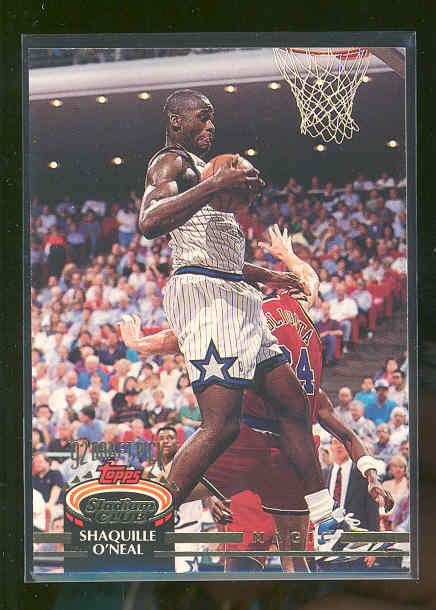 1992-93 Stadium Club #247 Shaquille O'Neal RC