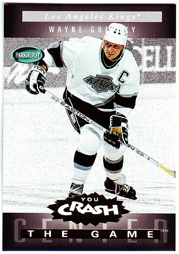 1994-95 Parkhurst Crash the Game Gold #11 Wayne Gretzky