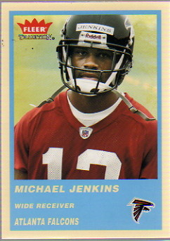 2004 Fleer Tradition Blue #350 Michael Jenkins