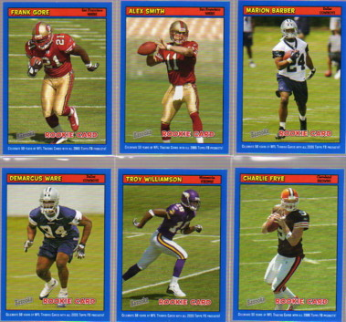 2005 Bazooka Blue #194 Alex Smith QB