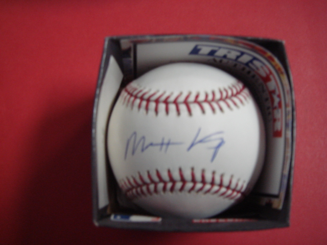 Matt Kemp Autographed Official Mlb Baseball With Tri Star Coa