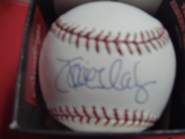 Xavier Nady Autographed Official Mlb Baseball with Steiner Coa