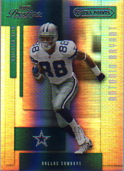 2004 Playoff Prestige Xtra Points Green #36 Antonio Bryant
