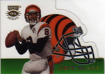 1995 Absolute Die Cut Helmets #3 Jeff Blake