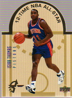 1993-94 Upper Deck SE Die Cut All-Stars #E6 Isiah Thomas