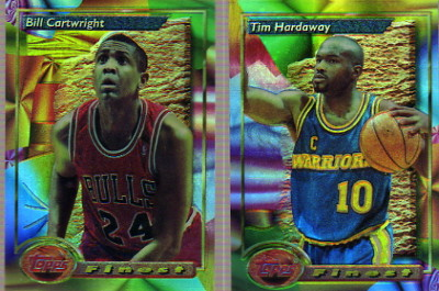 1993-94 Finest Refractors #170 Bill Cartwright SP