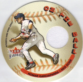 2003 Fleer Hardball On the Ball Game Used #NG Nomar Garciaparra Jsy