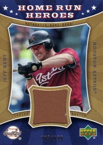 2004 Sweet Spot Home Run Heroes Jersey #JK Jeff Kent