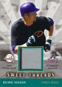 2004 Sweet Spot Sweet Threads #RS Richie Sexson