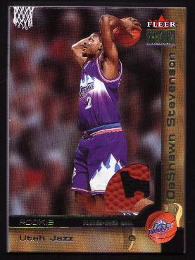 2000-01 Fleer Premiuim Ball #220, DeShawn Stevenson /1999