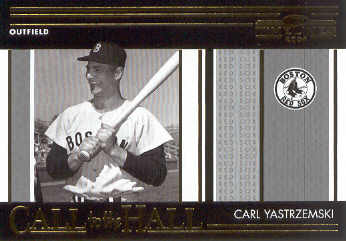 2004 Donruss Timelines Call to the Hall #8 Carl Yastrzemski