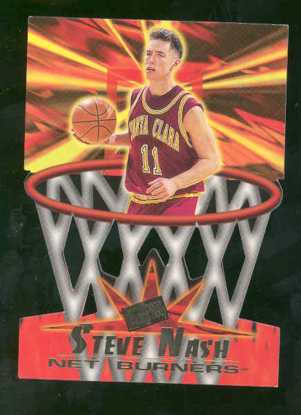 1996 Press Pass Net Burners #14 Steve Nash