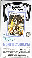 1989-90 Collegiate Collection University of North Carolina sealed basketball box - 36 packs!