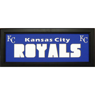 Kansas City Royals - Sports Card / Photo Black Display Frame
