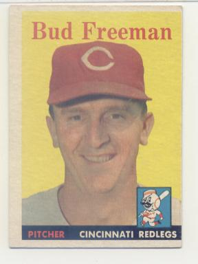 1958 Topps #27 Bud Freeman