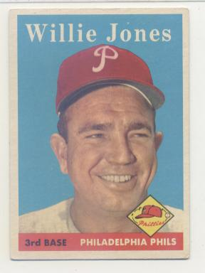 1958 Topps #181 Willie Jones