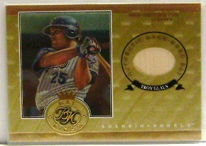 2001 Donruss Bat Kings #BK5 Troy Glaus
