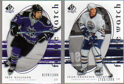 2005-06 SP Authentic #261 Jean-Francois Jacques RC