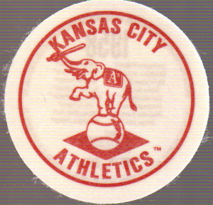 2007 Topps Heritage Felt Logos #KCA Kansas City Athletics